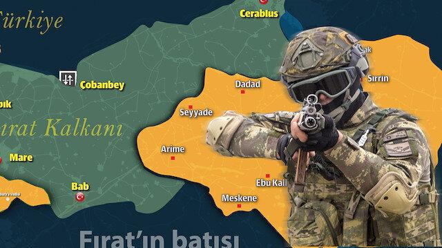 Türk askerleri Fırat Kalkanı ve Zeytin Dalı harekatıyla sınırındaki güvenlik tehdidini büyük ölçüde azaltmıştı