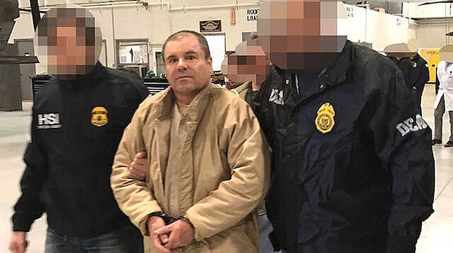 Uyuşturucu örgütü elebaşı El Chapo'nun davasına yoğun ilgi