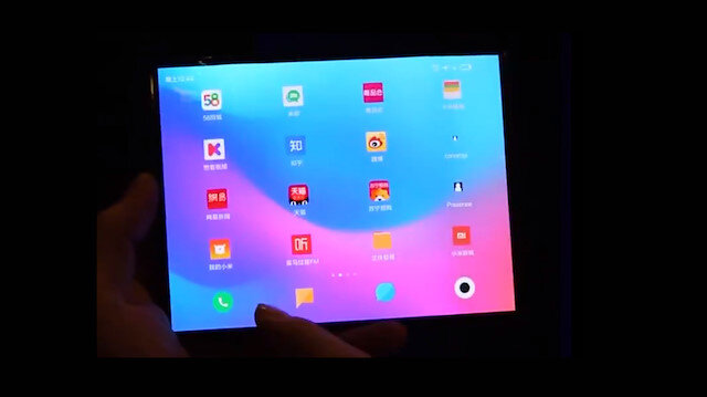 İddia: Xiaomi'nin katlanabilir akıllı telefon videosu yayınlandı