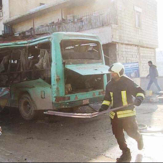 PKK sivil  otobüse saldırdı