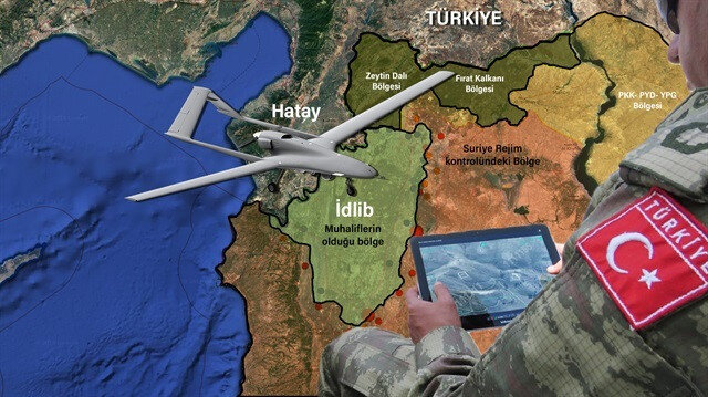 İHA ve SİHA'lar tarafından sahadan alınan görüntüler anlık olarak Mehmetçik'e ulaşabiliyor ve bu durum operasyonlarda Türkiye'nin elini oldukça rahatlatıyor.