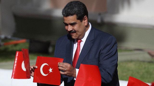 Venezuela Devlet Başkanı Maduro'nun 5 maddede Türkiye sevgisi
