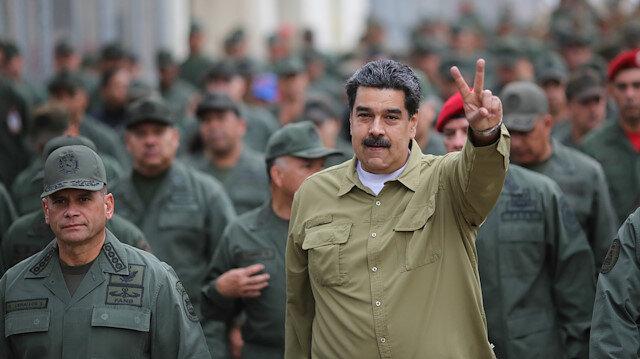 Maduro: ABD, Venezuela'yı Libya ve Irak'a çevirmek istiyor
