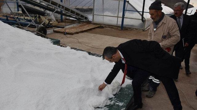 Dünyanın en iyi tuzu 20 metreden çıkıyor