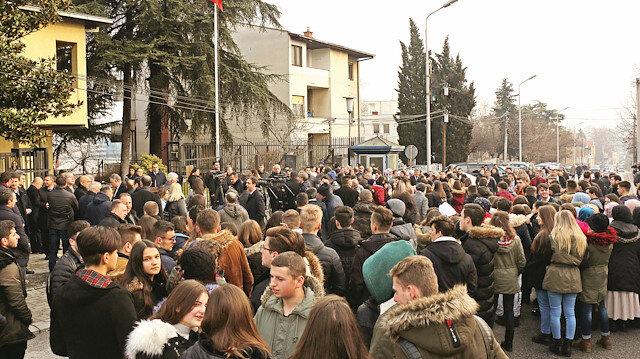 Makedonya ayakta: FETÖ isyanı