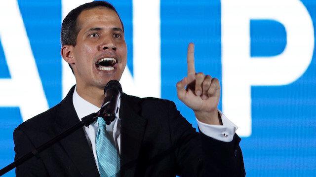 ABD Guaido Venezuela'sına insani yardım yapacak