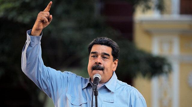 Maduro: Trump, Meksika ve Uruguay'ın diyalog girişimini baltalıyor
