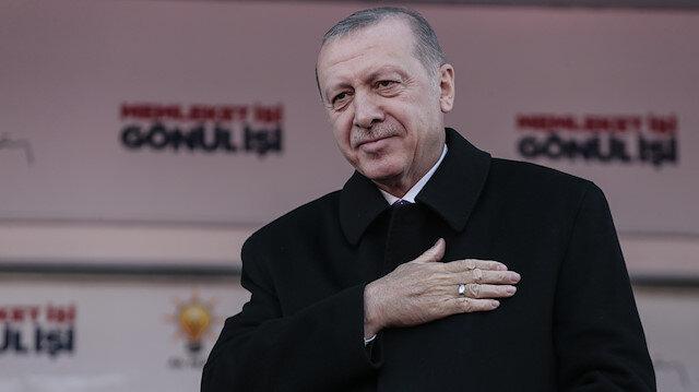 Cumhurbaşkanı Erdoğan'dan Çorumlulara 'altın' müjdesi
