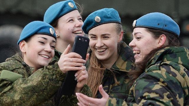 Rusya'da askerler çevrimiçi paylaşımlar yapamayacak