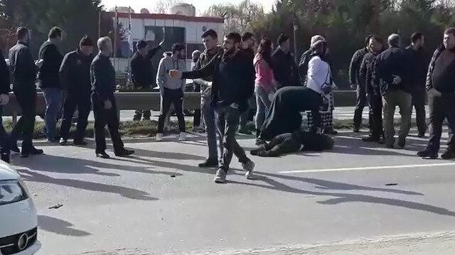 Kazada ağır yaralanan şahıs kızının çalıştığı hastanede öldü