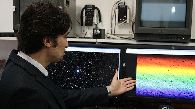 Türk astronom tuhaf dev yıldız keşfetti
