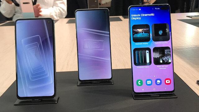 Samsung Galaxy ailesiyle MWC 2019'a damga vurdu