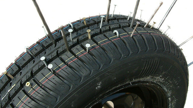 Çinde patlamayan araba lastiği üretildi