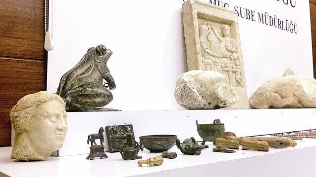 Tarihi eser kaçakçılarına büyük darbe