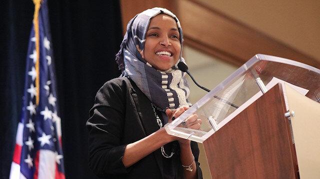Müslüman Kongre üyesi Ilhan Omar 'terörist'e benzetildi