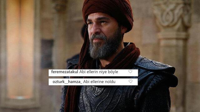 Engin Altan Düzyatan'ın elleri sosyal medyada olay oldu