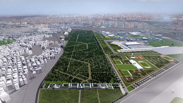 Atatürk Havalimanı arazisine yapılacak projenin görseli ortaya çıktı