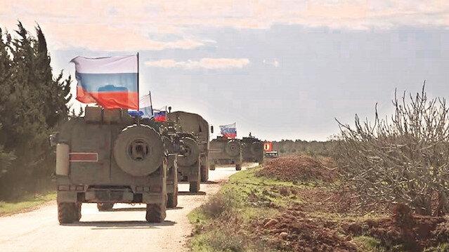 Tel Rıfat'ta Rus devriyesi