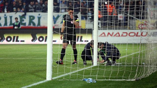 Beşiktaş maçında ağları delen gol