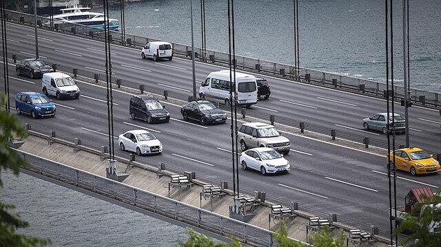 Köprüden yasaklı araçla geçti 30 bin TL ceza yedi