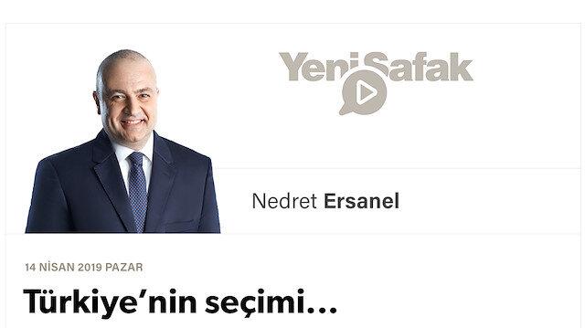 Türkiye'nin seçimi...