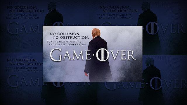 Trump'tan 'Game of Thrones' ile gönderme: Oyun bitti