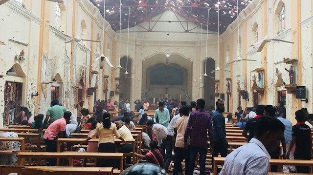 Sri Lanka'da terör saldırısı: 2'si Türk 310 ölü 500'den fazla yaralı