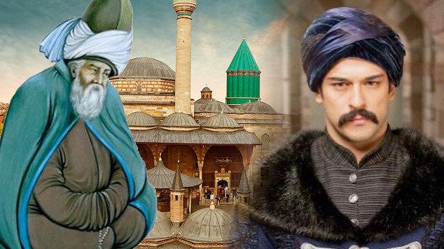 Diriliş Osman Gazi'de büyük detay: Mevlana müjdeliyor
