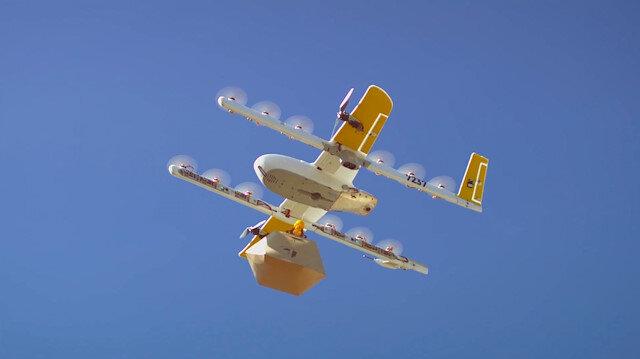 Google beklediği onayı aldı: 'ABD'de drone ile kargo nakliyesi yapılabilecek'