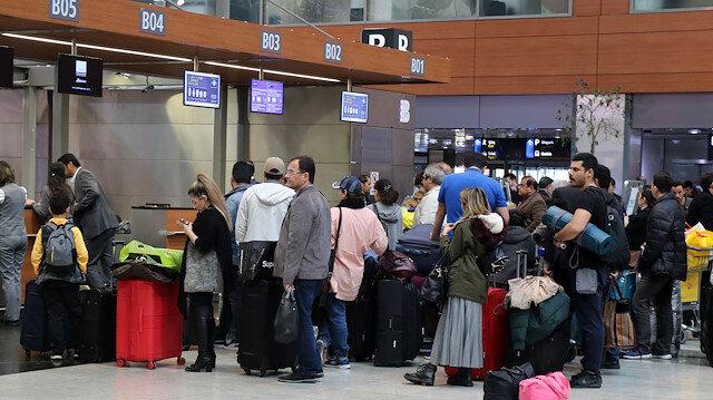 İstanbul Havalimanı'nda ilk rekor kırıldı