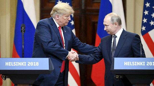 Putin ve Trump 1,5 saat telefonla görüştü