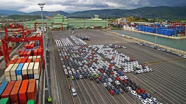 Otomotiv ihracatı nisanda 2.6 milyar dolar oldu