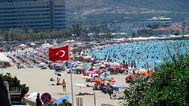 Bayram tatili için Ege'deki doluluk oranları yüzde 90'ı buldu
