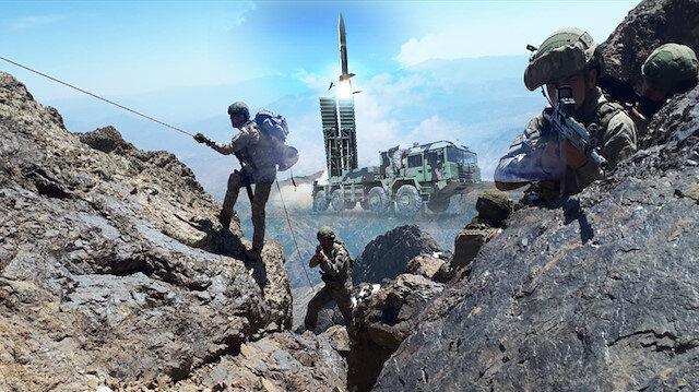 Pençe Operasyonunda bir ilk: Bora füzeleri ilk kez gerçek hedefe karşı kullanıldı