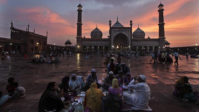 Hindistan'da Ramazan manzaraları