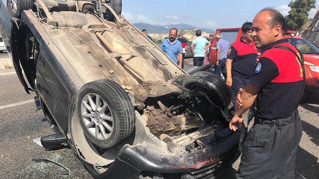 Meydana gelen trafik kazalarında 1 kişi öldü
