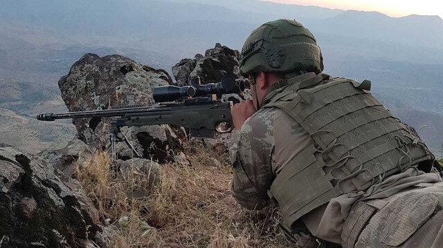 Pençe harekatında 6 terörist daha öldürüldü