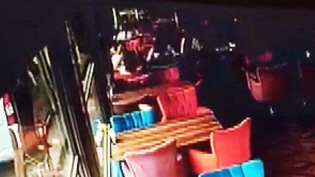 Ankarada otobüs kafeye girdi: 3 yaralı