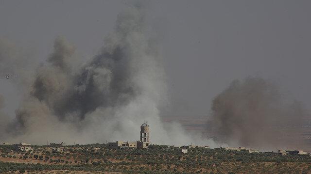 İdlib'de gözlem noktamıza rejimden havan saldırısı