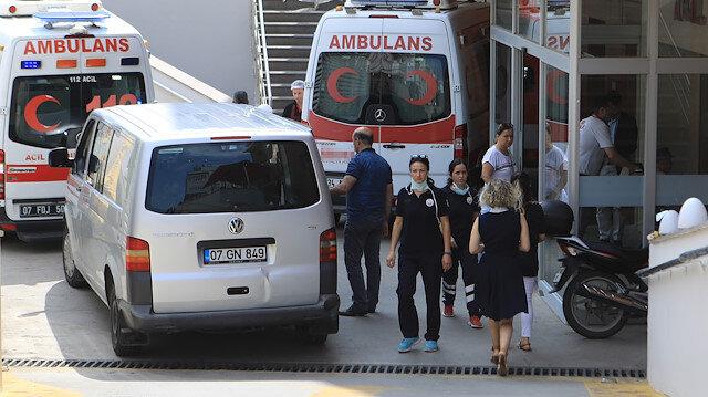 Antalya'da bir hastanenin klima bölümünde patlama: 1 ölü