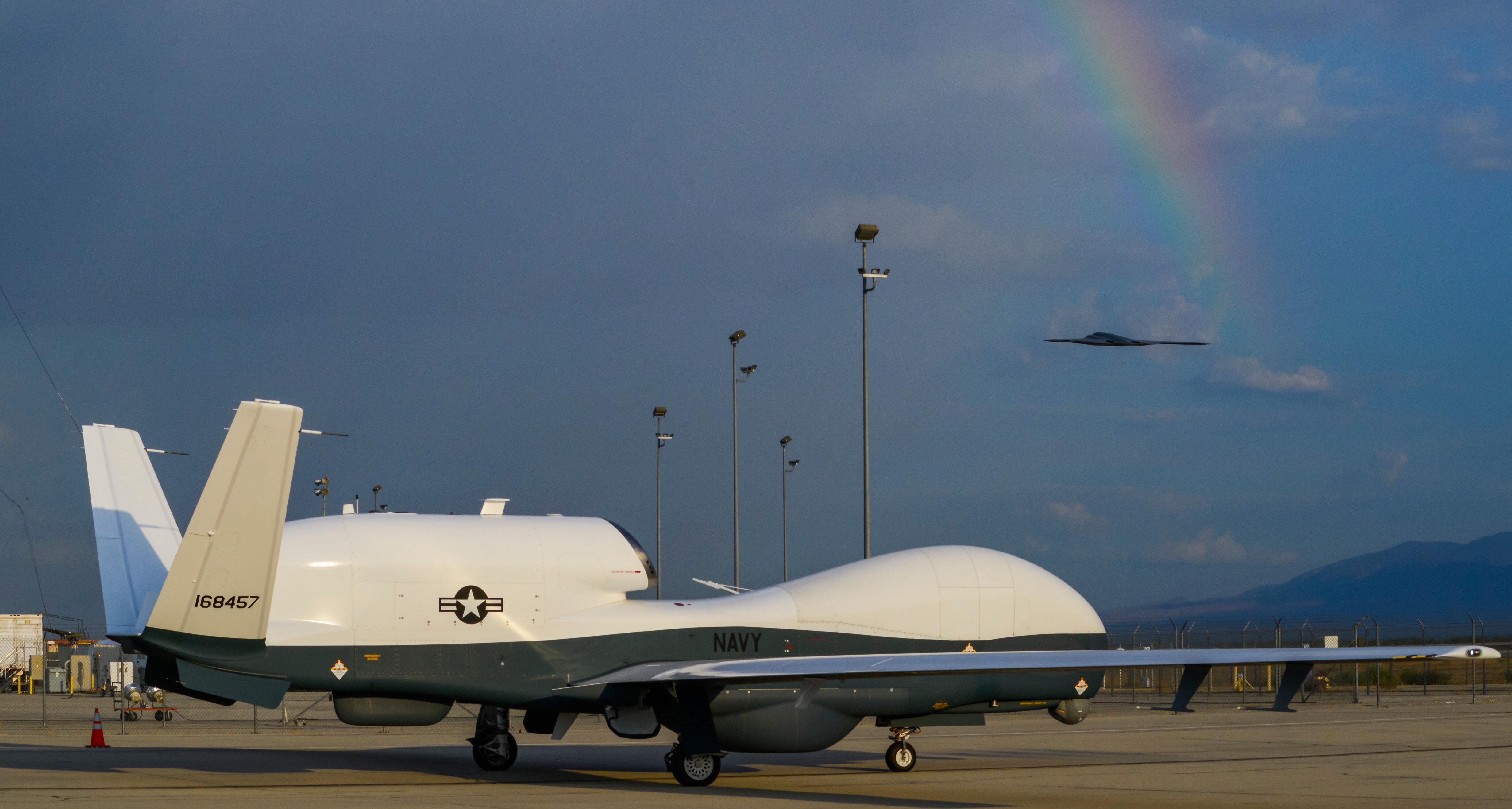İran tarafından düşürülen ABD uçağı. (Fotoğraf: Arşiv)