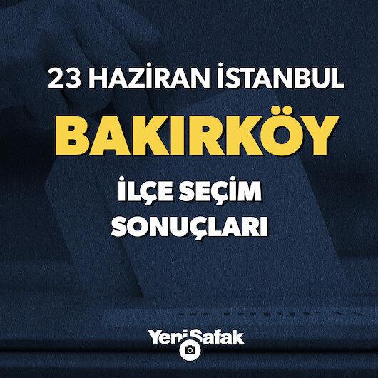 Bakırköy'de sandık sonuçları ve oy oranları