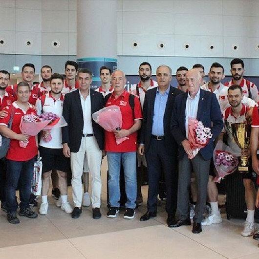 Turkey welcomes volleyball team over European success