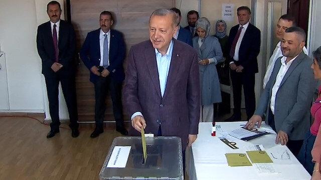 Cumhurbaşkanı Erdoğandan seçim açıklaması