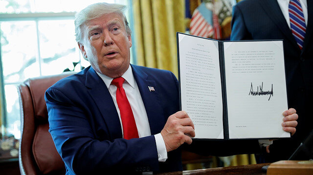 Trump'tan İran rejime karşı yeni yaptırım