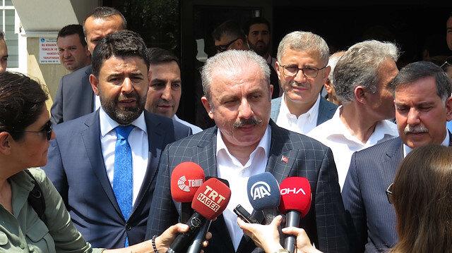 Meclis Başkanı Şentop'tan İmamoğlu'na tebrik