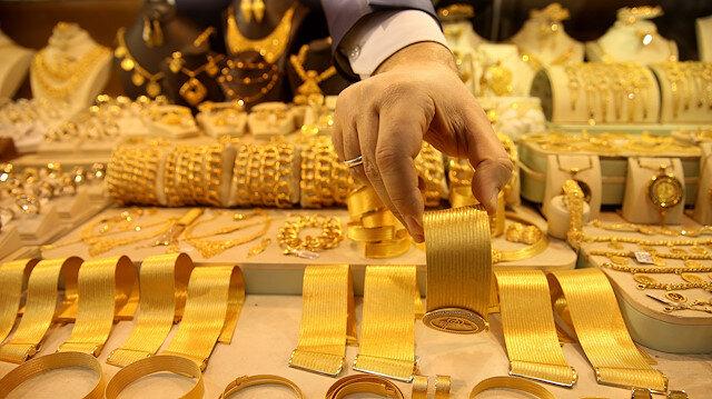 Gram altın 262 lira seviyelerinde