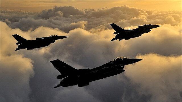 Sınır ötesi hava harekatında 3 terörist öldürüldü