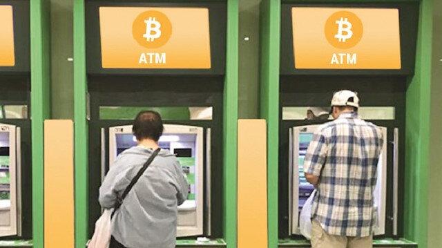 Bitcoin ATM'leri yayılıyor