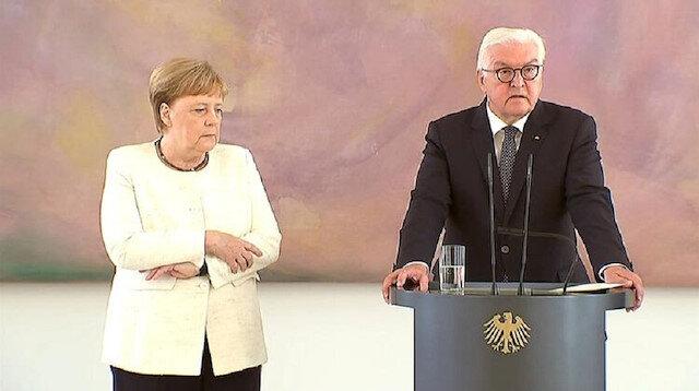 Merkel'i titreme tuttu